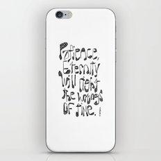 Spurgeon iPhone & iPod Skin