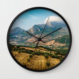 Jebel Musa (Morocco) Wall Clock