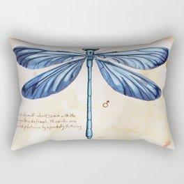 Science art insect art Rectangular Pillow