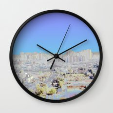Chromascape 4: Delhi Wall Clock