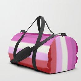 Lesbian Pride Flag Duffle Bag