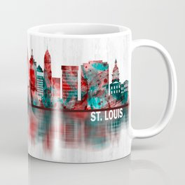 St. Louis Missouri Skyline Coffee Mug