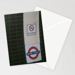 No Smoking Underground. Stationery Cards