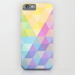 Fig. 027 Hexagon pattern iPhone Case