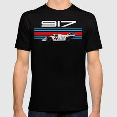Porsche 917-053 1971 LeMans Winner LARGE Black Mens Fitted Tee