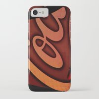 coke iPhone & iPod Cases featuring Coke Butterfly by BinaryGod.com