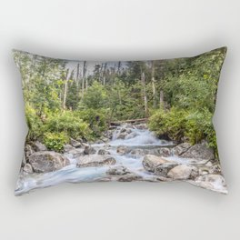 Waterfall in High Tatras Rectangular Pillow