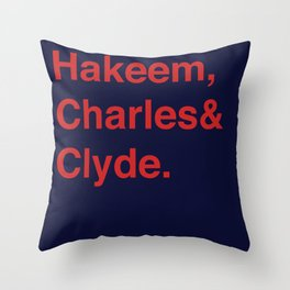 Houston Rockets (classic) Throw Pillow