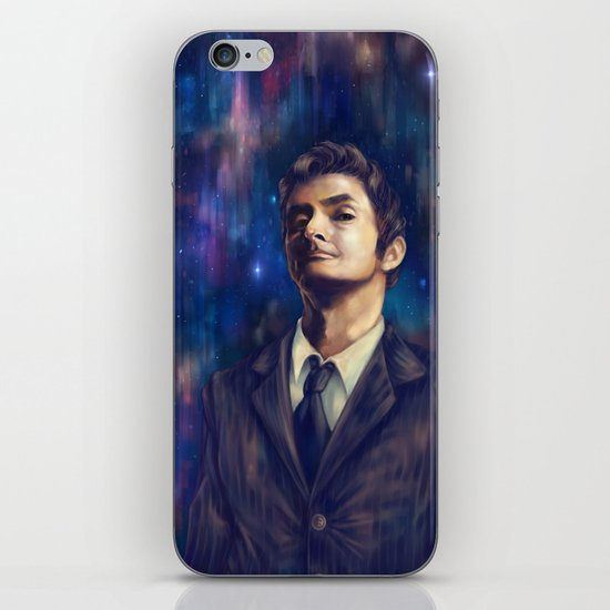 The Time Lord iPhone & iPod Skin