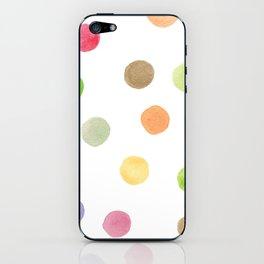 Polka Dot Surprise iPhone Skin