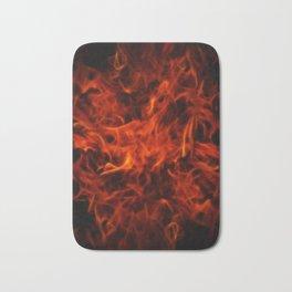 Fractal Flame Bath Mat