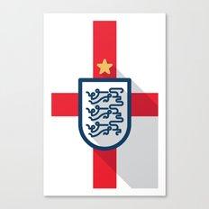 England Minimal Canvas Print