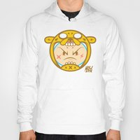 finn and jake Hoodies featuring Jake & Finn  by Miguel Manrique