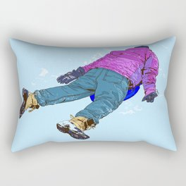 #inktober2016:wreck Rectangular Pillow
