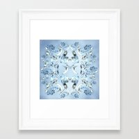 crystals Framed Art Prints featuring Crystals by Armin
