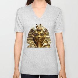 Egypt King Tut Unisex V-Neck