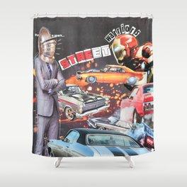 Street Warriors Shower Curtain
