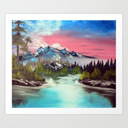 A Dream away Art Print