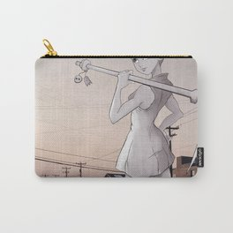 Pickaxe Girl Carry-All Pouch