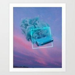 TimeSpace Art Print