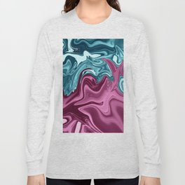 ABSTRACT LIQUIDS XXXI Long Sleeve T-shirt