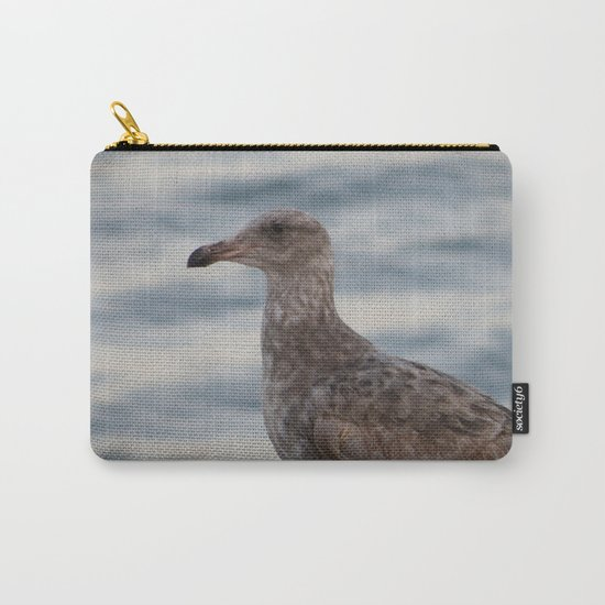 Young Gull in Malibu Carry-All Pouch