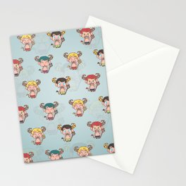 Hentities Demons Stationery Cards
