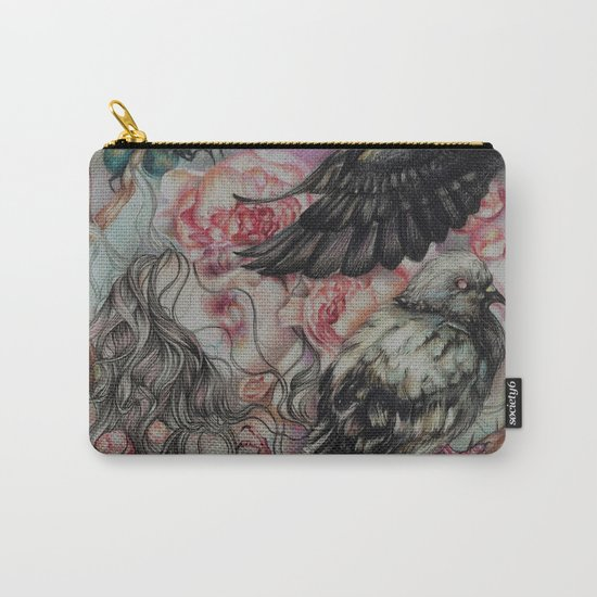 Words Unsaid Carry-All Pouch
