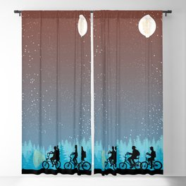 Searching for Will B. - 80s things Blackout Curtain