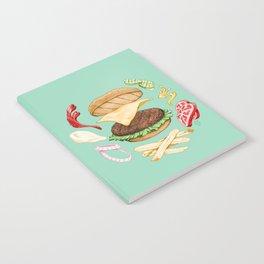 Burger Mandala Notebook