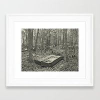 antique Framed Art Prints featuring Antique by Morningview Studio