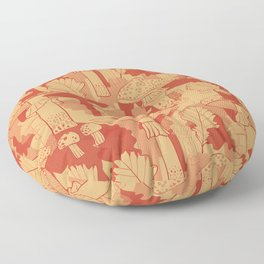Red Hot Summer: Fly Agaric Floor Pillow