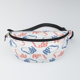 Spotted Dog Print Fanny Pack