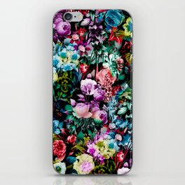 Multicolor Floral Pattern iPhone Skin