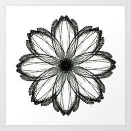 The Other Flower Art Print