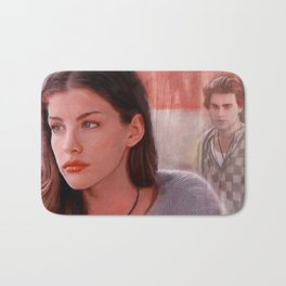 Painting Illustration Of Corey From The Cult Classic Film Empire Records Bath Mat