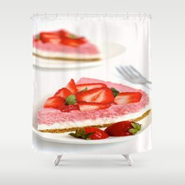 cake time Shower Curtain