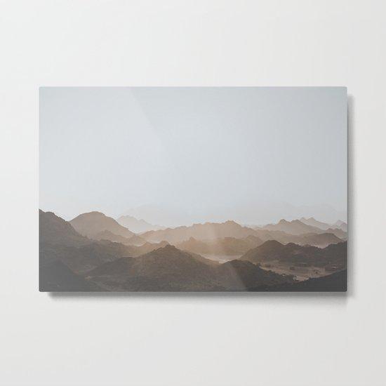 Desert of Egypt V (brighter) Metal Print