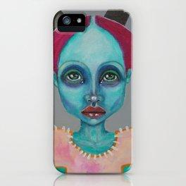 Demokrit`s girl iPhone Case
