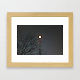 Calor. Framed Art Print