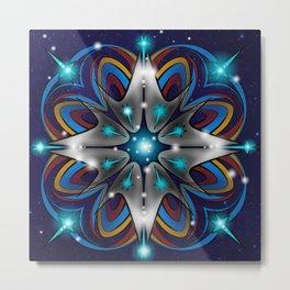 Live Long & Prosper Kaleidoscope Design Metal Print
