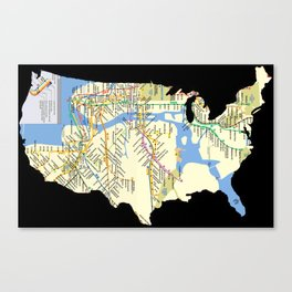 MTAmerica Canvas Print
