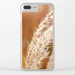 Fall Wind Clear iPhone Case