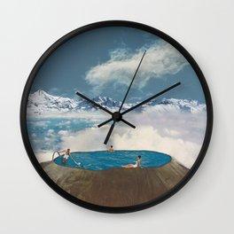 Skydive Wall Clock