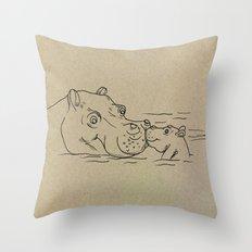 NB nr2 Throw Pillow
