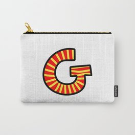 Uppercase Letter G Doodle Carry-All Pouch