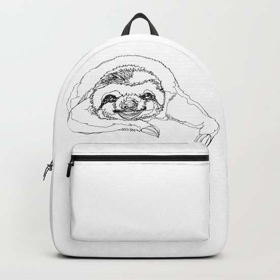 Lazy Slothurday Backpack