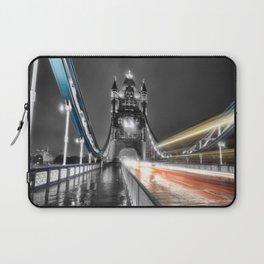 Tower Bridge at night Laptop Sleeve