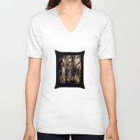 the hobbit V-neck T-shirts featuring  Hobbit by ira gora