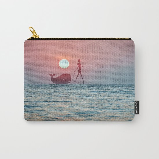 Whale Walk Carry-All Pouch